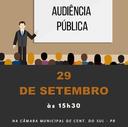 Audiência Pública do 2º Quadrimestre de 2017