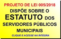Estatuto do Servidor Público Municipal