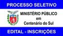 MP - PR abre Processo Seletivo em Centenário do Sul