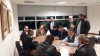 Poderes Legislativo e Executivo vão a Curitiba solicitar o aumento do efetivo de policial para Centenário do Sul