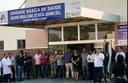 Vereadores participam de inauguração da nova UBS do distrito Vila Progresso
